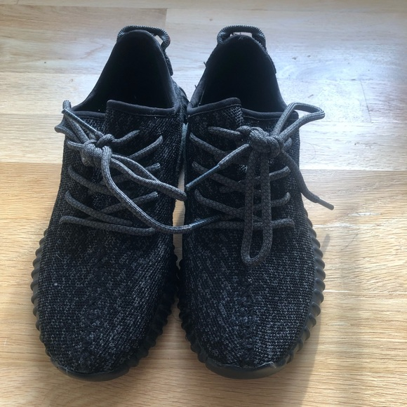 969164fb Yeezy Shoes | Adidas Boost 350 Pirate Black 2015 Size 7 | Poshmark
